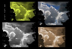 b4 the rain... (YAZMDG (16,000 images)) Tags: light sunset sky abstract color art nature collage clouds sunrise skyscape landscape dawn arty artistic dusk ciel cielo nuages yaz northernrivers goonengerry yazminamicheledegaye yazmdg ystudio