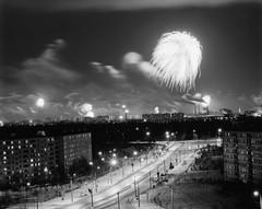 Eastern outskirts of Moscow. (Igor Palmin) Tags: street light russia firework outskirts