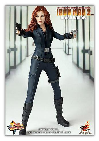 Black Widow de Iron Man 2