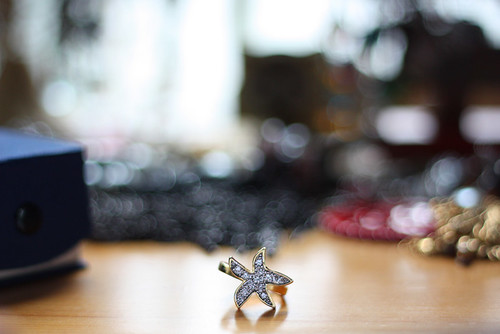 starfish ring bokeh