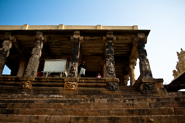 Kalyani structure, Melkote - Chitra Aiyer Photography