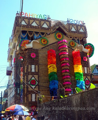Building Filled with Decorations in Pahiyas Festival