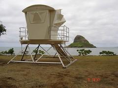kualoatowernew7507 (HawaiiBeachSafety) Tags: lifeguardtower kualoabeach