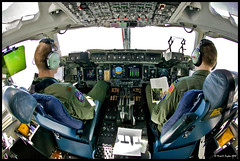 C-17 Cockpit (Mark Payton Photography) Tags: canon eos fisheye c17 airforce 1ds canon1ds canonef15mmf28fisheye markpayton canon15mmf28 missoulaphotographer c17cockpit c17pilots markpaytonphotography