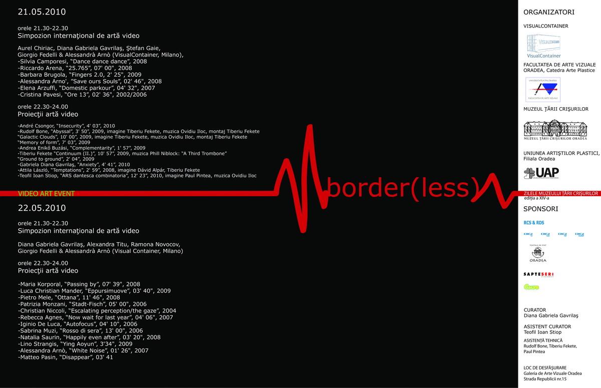 border(less) - Zilele Muzeului Ţării Crişurilor