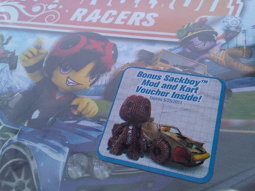 LittleBigPlanet ModNation Racers Sticker