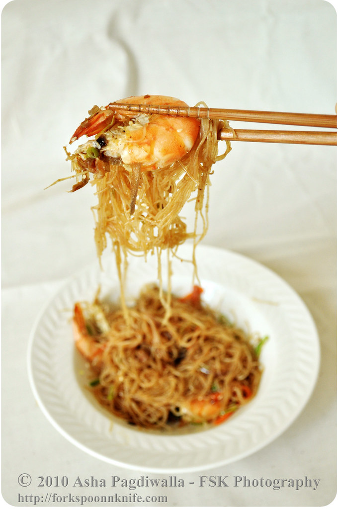 Pancit on a Chopstick