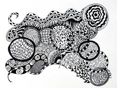 Fairy rings (KimberlyJDC) Tags: doodle zentangle zendoodle