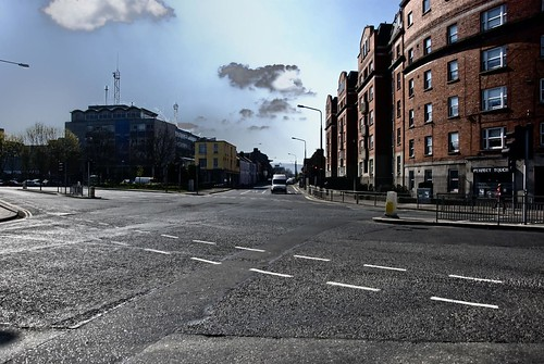 A road in Dublin