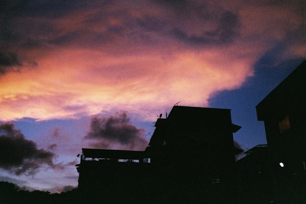 斗湖的黄昏