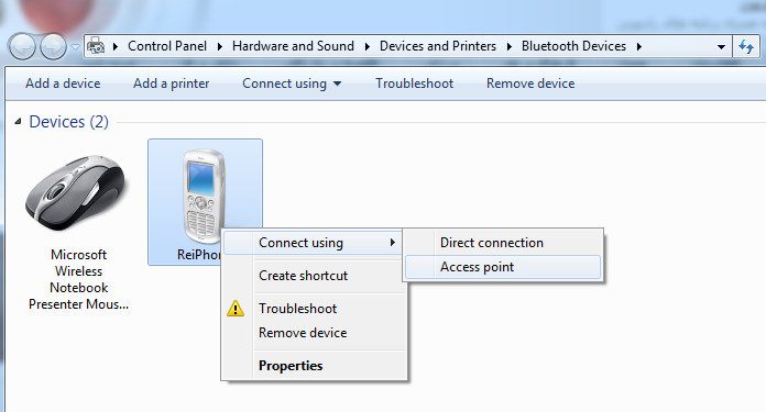 Got a Problem Pairing Your iPhone with Windows 7 over Bluetooth