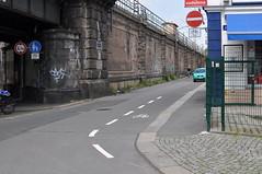 Einbahnstraße Dammweg
