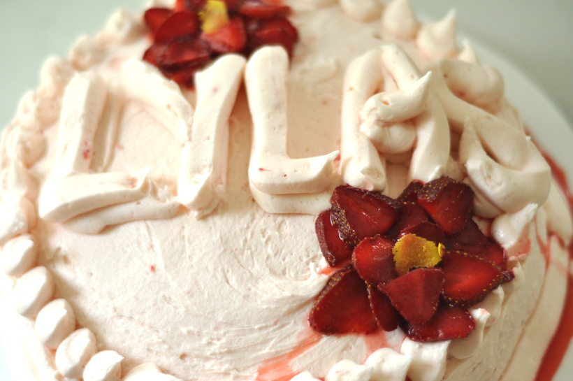 Strawberry Cake Recipe aka The best cake in the whole entire world!