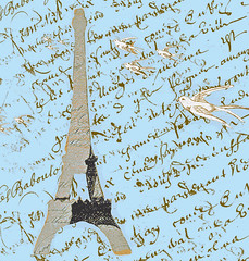 Eiffel_Tower_with_blue bCKGROUND