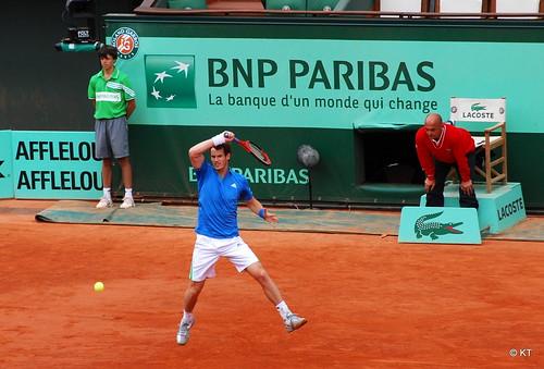 andy murray 2011 roland garros. Day 5 of Roland Garros 2011.