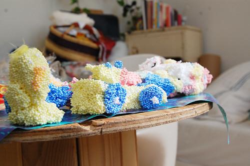 foamy playdough