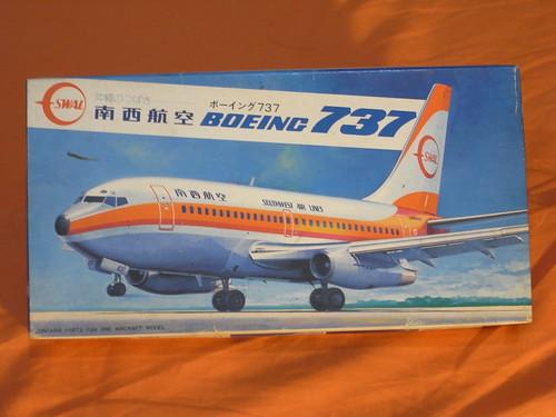Hasegawa 1/200 SWAL 737-200