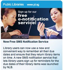 National Library Board Singapore - eReminder service