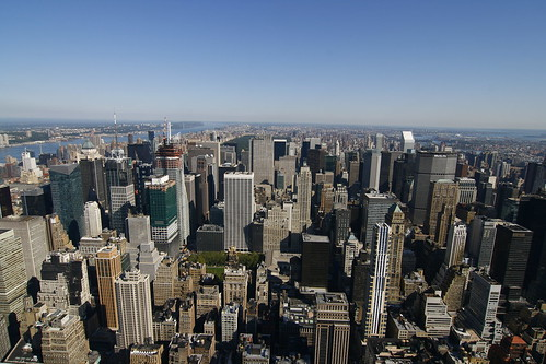 Vista de NY desde el Empire State