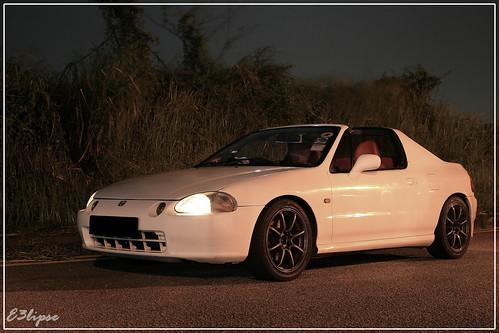crx del sol. Honda CRX Del Sol
