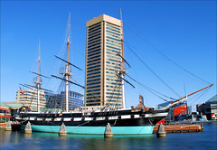 Constellation (ShacklefordPhotoArt) Tags: boat maryland baltimore battleship tallship innerharbor ussconstellation