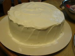 cream coating...
