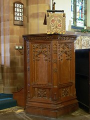 Pulpit, St. Nicholas - South Kilworth
