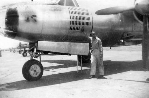 Warbird picture - B-26 in Silver Fleet 67 bomb runs, 'Blondie's Demon' 40-1547