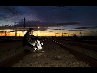 Se le escapó el último tren ...