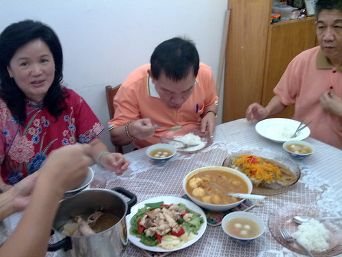 Delicious lunch at aunt's house (2nd day of Chinese New Year) 2