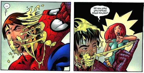 Oh Pete! that's NASTY! ¿TANTO Spidermoco? Al menos Mefisto le borró el recuerdo a Mary Jane según tengo entendido