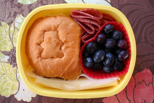 Preschooler Bento #134: January 30, 2009