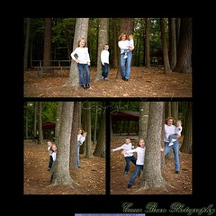 Playing in the Trees (mojomoni- Cocoa Bean Photo) Tags: park family photography photo woods photographer martin sister brother military navy monica wife virginiabeach deployment redwing hamptonroads cocoabean