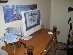 Imac Setup (Loustechworld) Tags: desktop apple macintosh office imac desk lou setup loustechworld loustech
