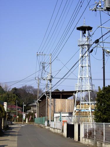 日比田の火の見櫓
