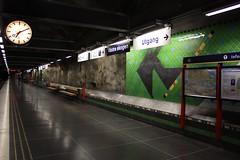 First there was none (fotoeins) Tags: travel station canon eos europa europe blueline metro sweden stockholm kitlens sverige xsi tunnelbana tbana vstraskogen bllinjen eos450d henrylee 450d vastraskogen canonefs1855mmf3556is fotoeins blalinjen henrylflee fotoeinscom