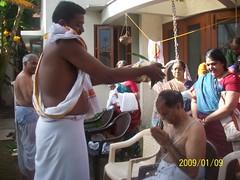 Grekiyam ceremonies (S Jagadish) Tags: madras appa thatha 200901 santhanam sirkazhithatha grekiyam