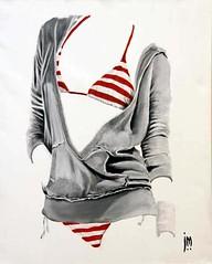 Sexy Clothing IV (The Art of John D Moulton) Tags: pencil watercolor oil femaleform sensualart