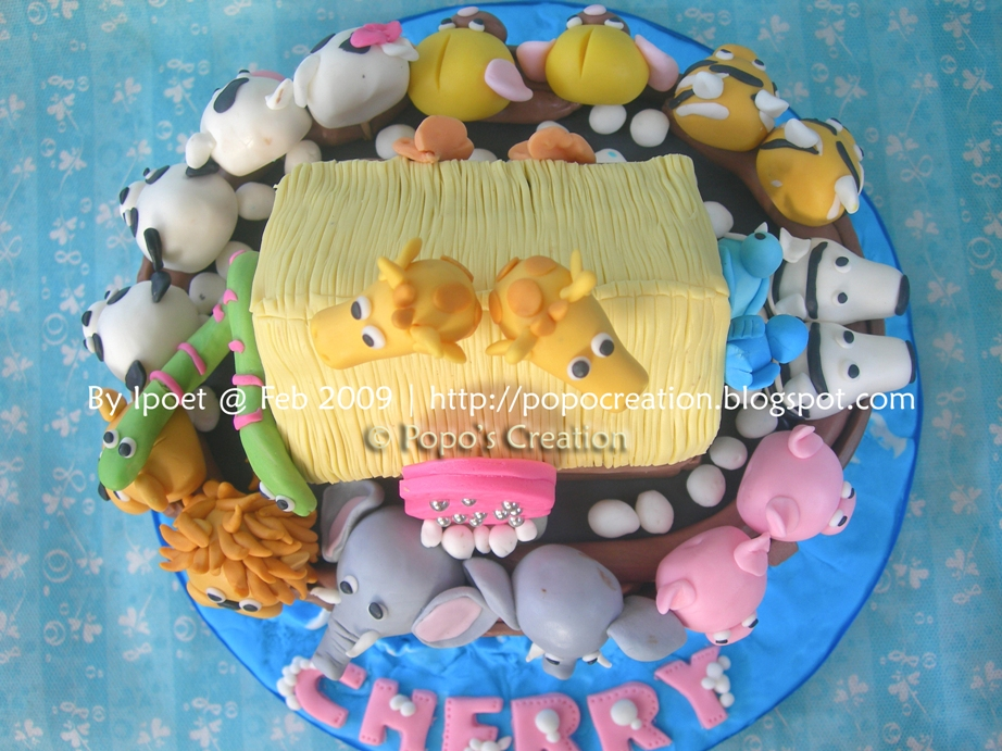 Noah's Ark cake For Cherry