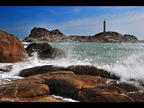 waterwork - Ke Ga lighthouse.