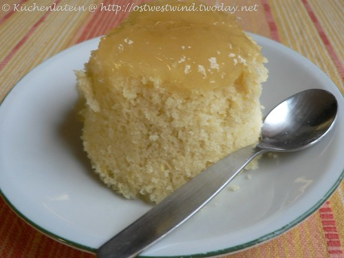 ©Mini lemon curd sponge pudding