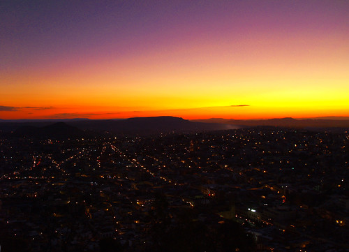 Oscurece en Zacatecas