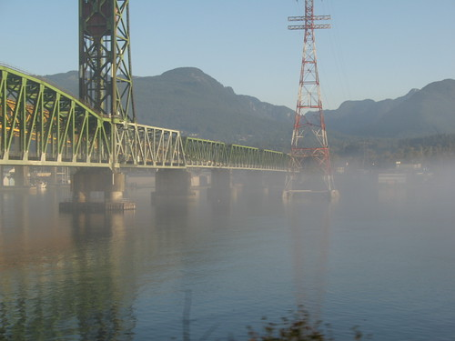 Second Narrows And Some Morning Fog