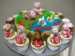 animal farm (Artisan Cakes by e.t.) Tags: et artisancakes