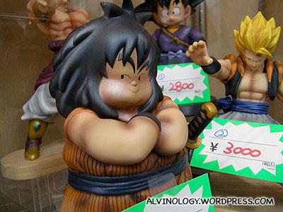 The fat samurai boy in Dragon Ball
