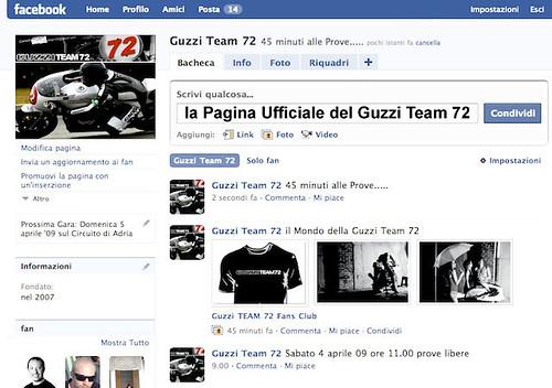Facebook Fans Club Guzzi Moto Endurance