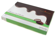 Manhattan Chocolates Chocolate Dipped Mint Cremes - Kosher for Passover