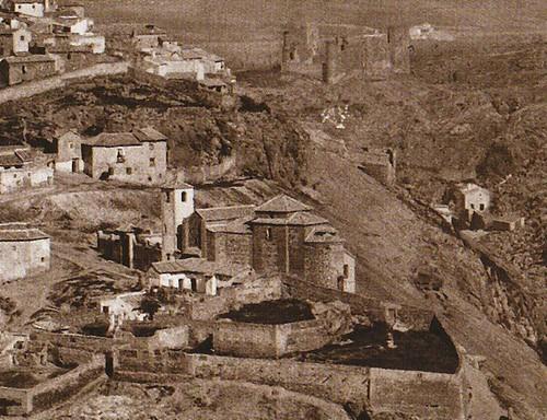 Iglesia de San Lucas en 1872. Fotogafía de Jean Laurent. Archivo Ruiz Vernacci