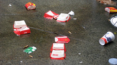 Maccas litter by 