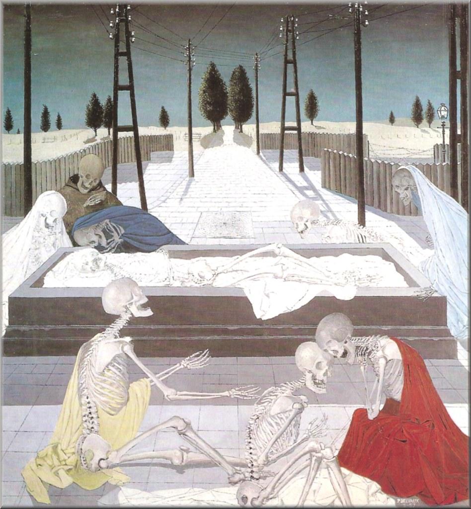 德尔沃PAUL DELVAUX (1897-1994)作品集1 - 刘懿工作室 - 刘懿工作室 YI LIU STUDIO